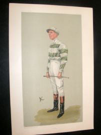 Vanity Fair Print 1903 John Evelyn Watts, Jockey
